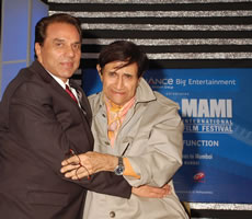 Dharmendra and Chief Guest Dev Anand